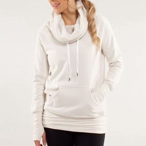 Lululemon Don't Hurry Be Happy Pullover Cream 4